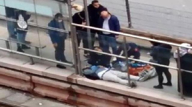 Sultangazi'de acı olay: Tramvay beklerken kalp krizi geçiren kişi öldü