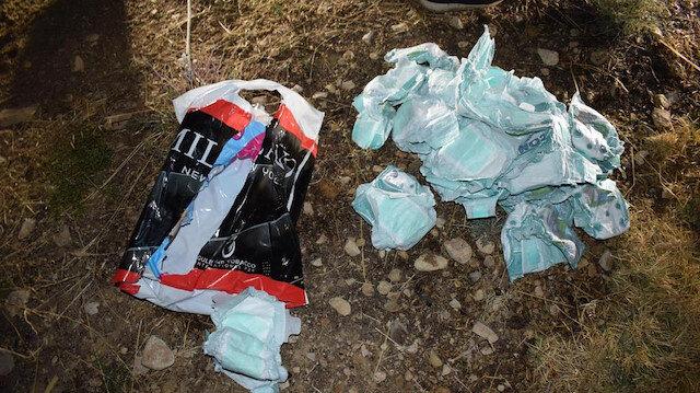 Mardin'de bebek katilleri, bombaları bebek bezlerine saklamış