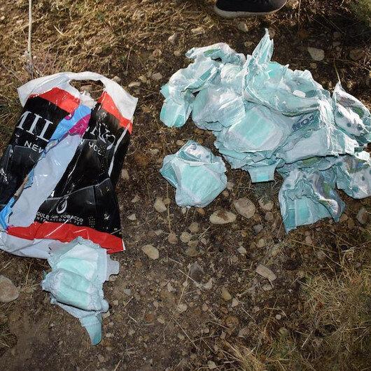 Mardinde bebek katilleri, bombaları bebek bezlerine saklamış