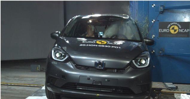 Honda Jazz e:Hev güvenlik testinden başarıyla çıktı.