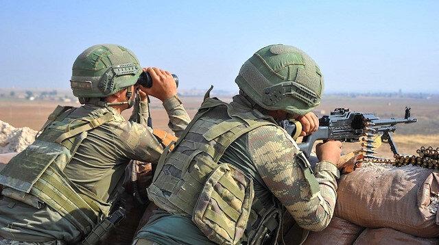 Sızma girişiminde bulunan 6 PKK/YPG'li terörist öldürüldü
