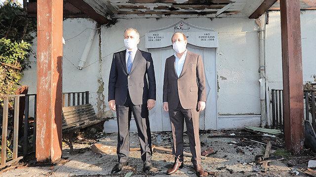 Vaniköy Camii eski haline dönecek