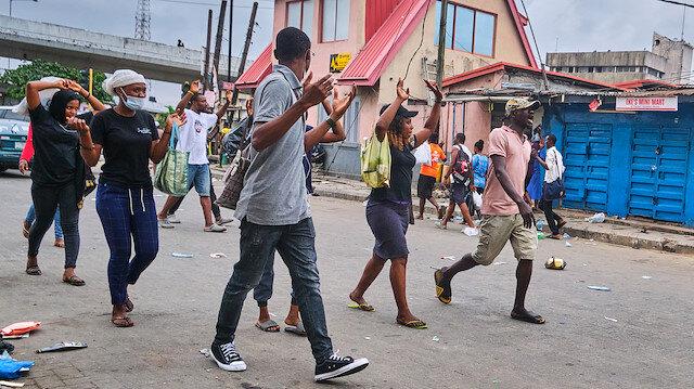 Nijerya'da şiddet ülke geneline yayıldı: Gösterilerde 94 sivil ve polis öldü