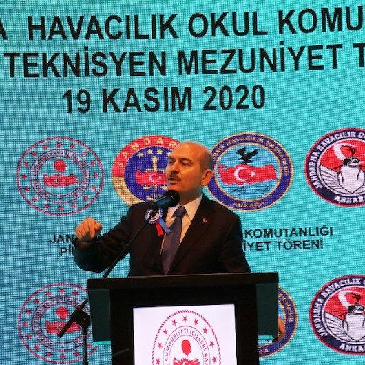 Bakan Soylu: 2020de İHA ve SİHAlar 215 teröristin etkisiz hale getirilmesine katkı sağladı