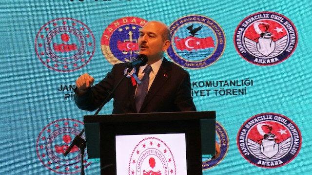 Bakan Soylu: 2020'de İHA ve SİHA'lar 215 teröristin etkisiz hale getirilmesine katkı sağladı