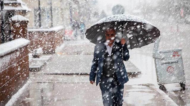 Meteoroloji'den üç il için kar uyarısı!