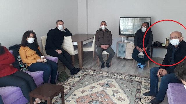 HDP'li milletvekilinden, öldürülen PKK'lı teröristin ailesine taziye ziyareti