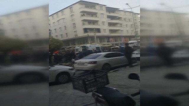 Iğdır'da silahlı çatışma: Bir kişinin yaralandığı olaya ilişkin görüntüler kamerada