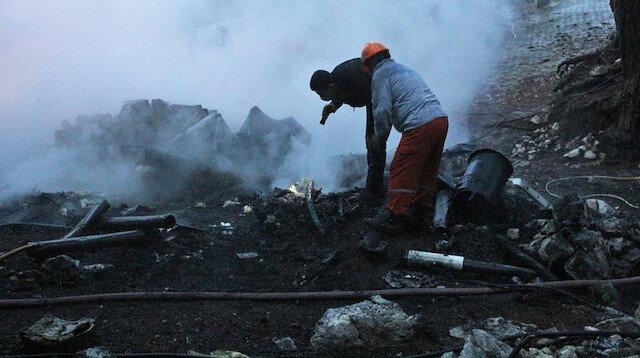 Yaylada yangın faciası: Alev topuna döndü iki kişi can verdi
