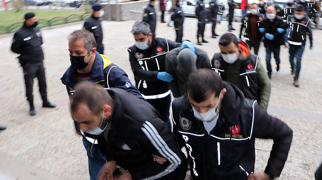 Erzurum merkezli 4 ildeki uyuşturucu operasyonunda 15 zanlı tutuklandı