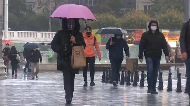 Meteorolojiden İstanbul ve çok sayıda ile yağış uyarısı