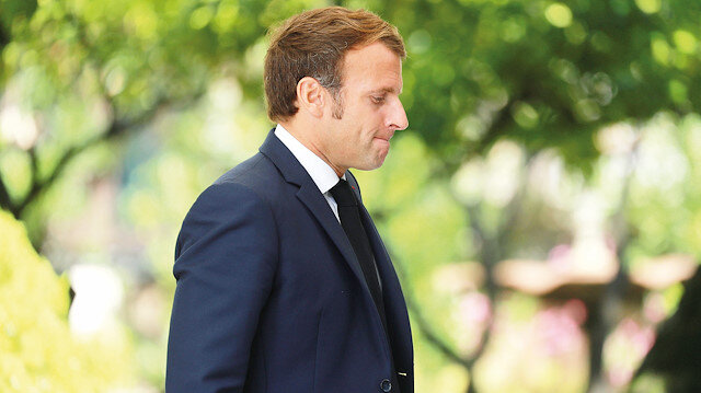Macron faşizmi zirve yaptı