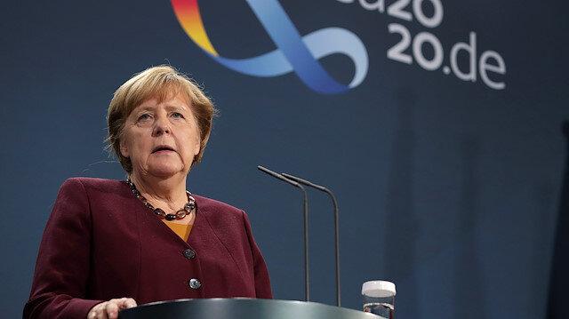 Merkel'den Doğu Akdeniz açıklaması: Olaylar umduğumuz şekilde gelişmedi