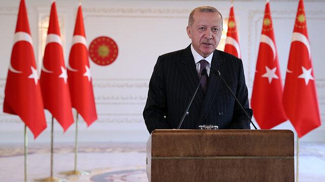 Cumhurbaşkanı Erdoğan G-20'de aşı mesajı: Türkiye'nin ürettiği aşıyı tüm insanlığın hizmetine sunacağız