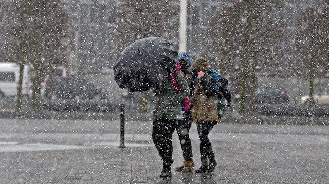 Meteoroloji'den çok sayıda il için kar ve yağmur uyarısı!