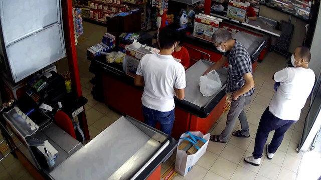 Adana polisi, büyük marketlere girerek sadece içki çalan hırsızı yakaladı
