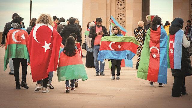Karabağ'da manevi birliği yaşadık