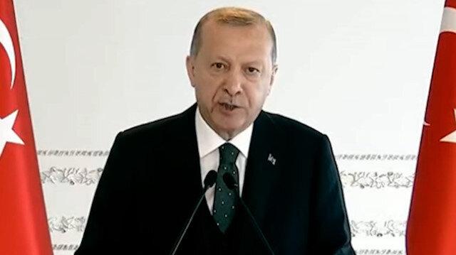 Cumhurbaşkanı Erdoğan'dan CHP'ye: Düşün bu ülkenin ve milletin yakasından