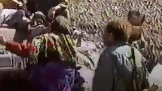 28 yıl önce Kelbecerli nine torununu kaçıran Ermeni işgalcilere böyle yalvarmıştı