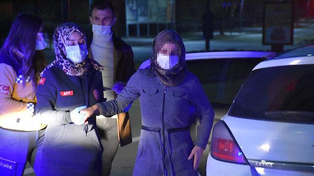 Koronavirüs hastası annesini özel aracıyla eve götürmek isteyen sürücü cezayı yedi