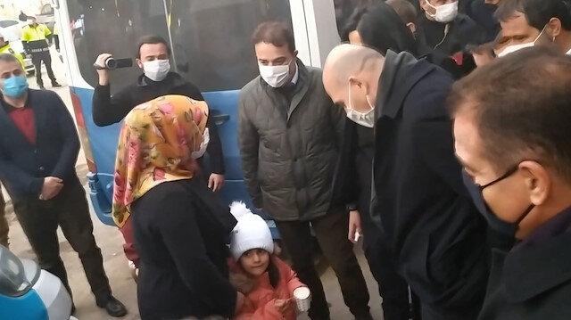 Bakan Soylu Yüksekova esnafını ziyaret etti
