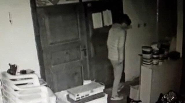 Muğla'da aynı iş yerine ikinci kez giren hırsızlar kameralara yakalandı