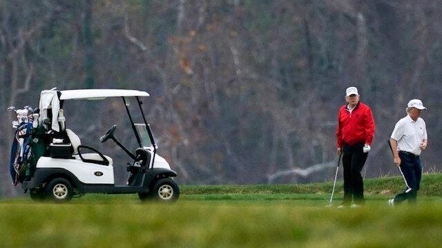 G-20 zirvesinde liderler konuşurken Trump golf oynadı