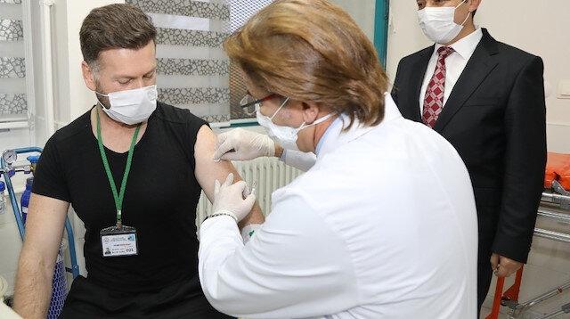 Yerli koronavirüs aşısı 44 kişiye uygulandı: Yan etki görülmedi
