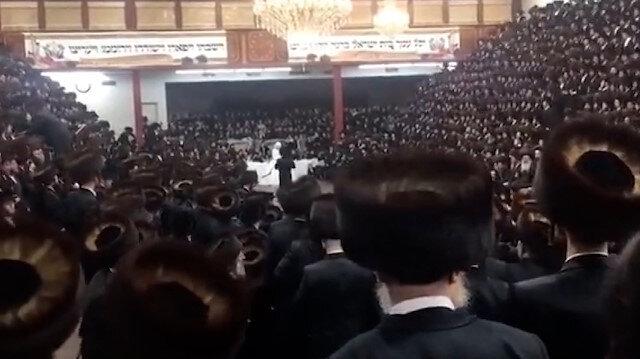 ABD'de koronavirüse rağmen sinagogda düzenlenen 7 bin kişilik düğün pes dedirtti