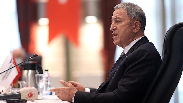 Milli Savunma Bakanı Akar'dan Türk gemisinde hukuk dışı aramaya tepki: Bazı gerçekler çarpıtılıyor