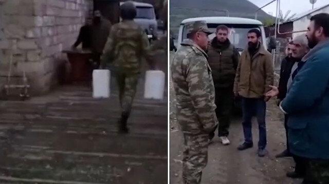 Azerbaycanlı komutandan, sivilleri defalarca vuran Ermenistan'a insanlık dersi
