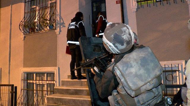 İstanbul'da şafak vakti uyuşturucu operasyonu: 13 gözaltı