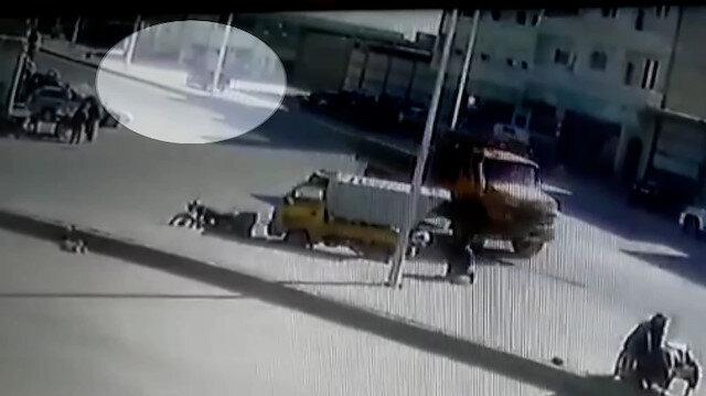 El Bab'daki bombalı saldırıya ait görüntüler ortaya çıktı