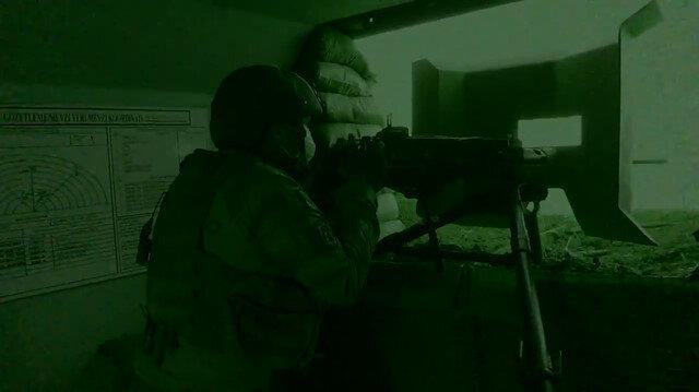 MSB, sızma girişiminde bulunan 17 teröristin etkisiz hale getirildiği operasyon görüntülerini paylaştı