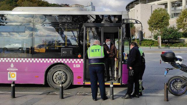 İBB'ye ait İstanbul Ulaşım'ın yolcu otobüsünde koronalı şoför direksiyon başında yakalandı