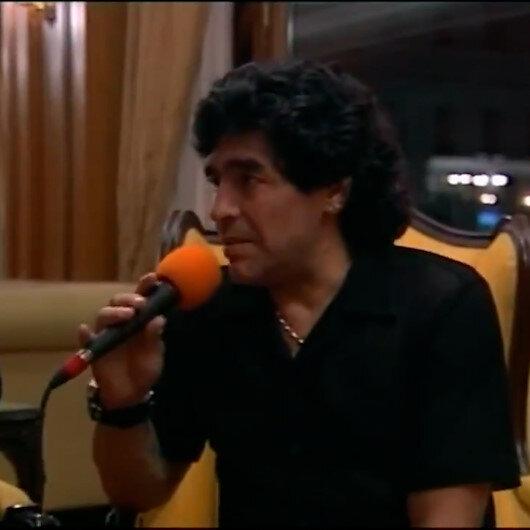 Diego Maradonanın Türk futbolu ve Beşiktaş hakkında yorumları paylaşım rekoru kırıyor