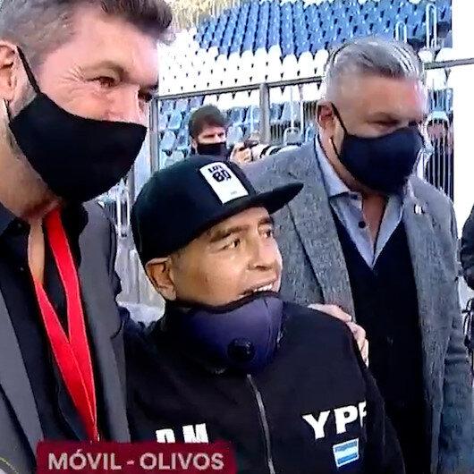 Diego Maradonanın ölmeden önceki görüntüleri futbolseverleri bir kez daha üzdü