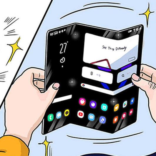 Samsung, yeni nesil üçe katlanan telefon konseptini paylaştı