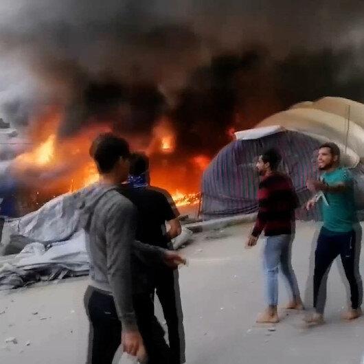 Irakta Sadr grubu yanlıları ile hükümet karşıtı protestocular çatıştı: 50 kişi yaralandı