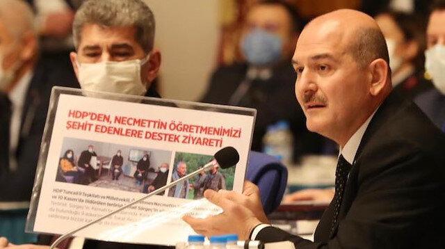 Süleyman Soylu'dan HDP'li vekillere: