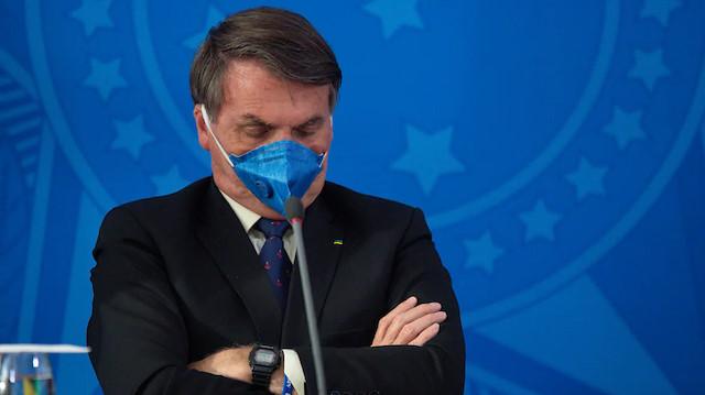 Brezilya Devlet Başkanı Bolsonaro'dan aşı resti: Karşıyım, yaptırmayacağım
