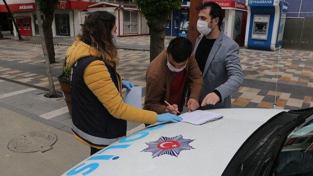 Koronavirüs denetimlerinde ceza yiyen vatandaşların trajikomik savunmaları