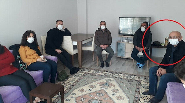 PKK'lı teröristin ailesine taziye ziyareti yapan HDP'li Önlü'ye soruşturma