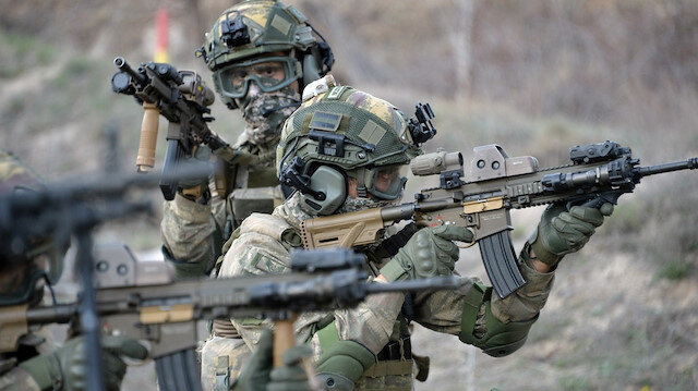 MSB duyurdu: Taciz ateş yapan 4 terörist etkisiz hale getirildi