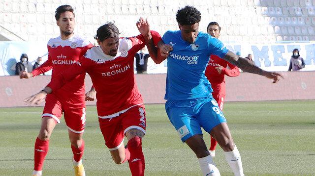 Erzurum'da 4 gol var, kazanan yok
