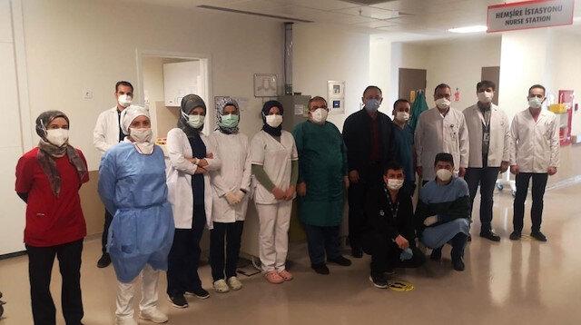 Kovid-19 tedavisi tamamlanan AK Parti Genel Başkan Yardımcısı Özhaseki taburcu oldu