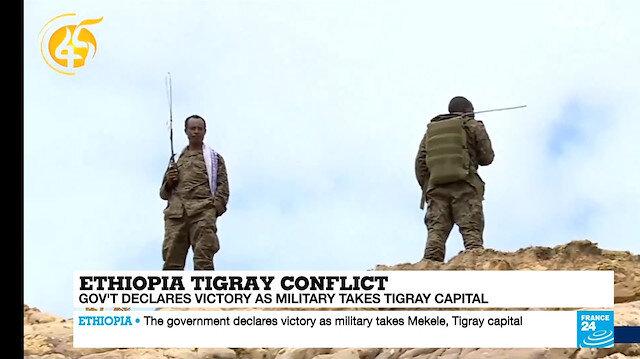Fransız medyası üç maymunu oynuyor: Ülke yanarken gündeme Etiyopya'yı aldılar