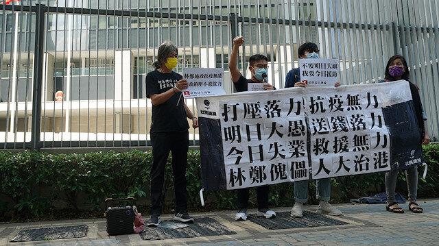 Çin 4 ABD'li STK yetkilisine Hong Kong nedeniyle yaptırım uygulayacak