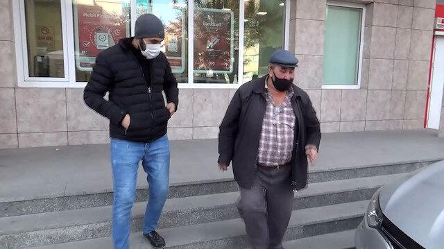 Afyonkarahisar'da pes dedirten vurdumduymazlık: Bankaya girmeye çalışan koronavirüslü adam HES kodu sayesinde yakalandı