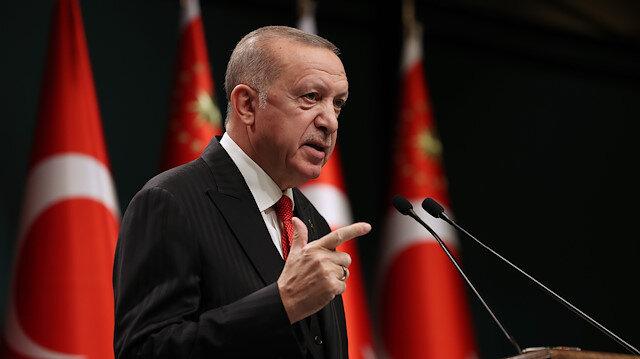 Cumhurbaşkanı Erdoğan'dan yeni koronavirüs tedbirleri: Hafta içi saat 21:00 ile 05:00 arası sokağa çıkma kısıtlamasına gidilecek